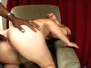 Blonde MILF Anal Fucking With Big Black Cock Interracial