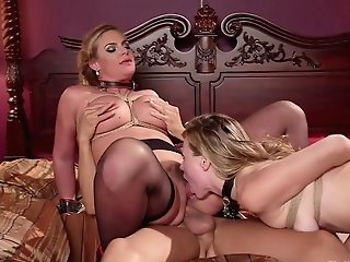 Hot Mistress Phoenix Marie And Her Assistant Fuck One Tempting Stunner