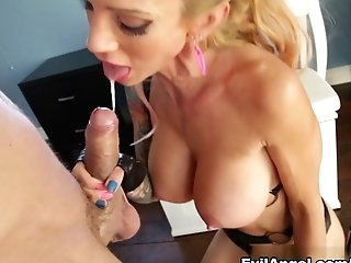 Fabulous Superstars Mr. Pete, Sarah Jessie In Horny Cougar, Pornographic Stars Adult Movie