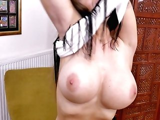 Buttfuck-insane Housewife Cathy Heaven Is Finger Fucking Her Butt Fuck Hole Rear End Style