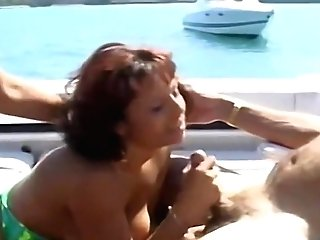 Matures Mummy Whores Share A Dick On A Boat Hard-core