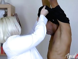 Agedlove Big-chested Blonde Matures Xxx Fucking