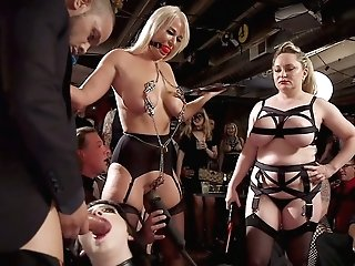 Big Tittied And Bootyful Vamp Aiden Starr Is Disciplined In Public