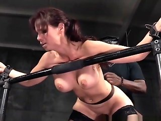 Chesty Subordinated Fucked While Tiedup