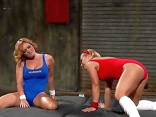 All Girl Cat-fight And Unspoiled Bareness With Katja Kassin And Krissy Lynn