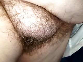 Looking At Her Soft Hairy Vulva, Big Tits And Niples