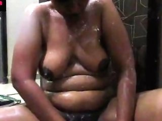 Bigtits Indian Stunner Lily In Bathroom Masturbate
