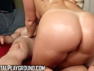 """digital Playground - Phat Ass Milky Girl Bailey Brooke Takes Big Manstick"""