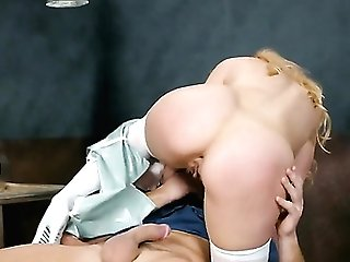 Blonde Ashley Fires Loves The Way Charles Dera Fucks Her Mouth