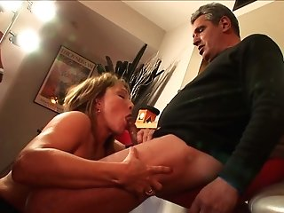 Blonde Likes The Earth Moving Fuck With Hot Dude