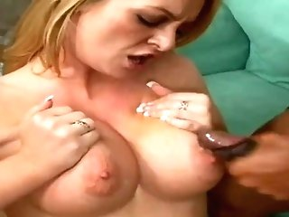 Big Black Cock Ass-fuck For Milky Wifey