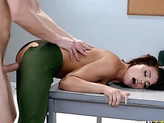Perky Adriana Chechik Assfucked And Squirts In Ripped Pantyhose