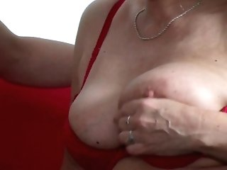 Old German Woman Instruct Youthful Nubile To Fuck In Threesome
