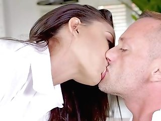 Rich Duo Having Rough Fuck-fest After Day At Work - Cassie Del Isla