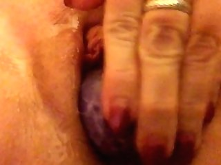 Milf Playing With A Yoni Egg In Her Pussy Slit