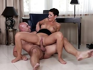 Black-haired Gabrielle Gucci With Giant Tits Is A Romp Pro That Is Ready To Love Dude's Worm In Her Fuck Box All Day Lengthy