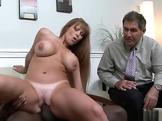 Big-titted Matures Cougar Dickriding Big Black Cock