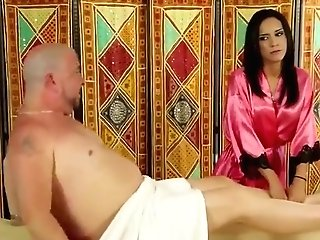 Heavenly Brown-haired Experienced Lady Having A Voluptuous Rubdown