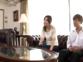 Japanese Wifey Cheating With Mom