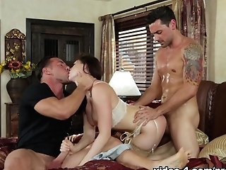 Fabulous Pornographic Stars Chanel Preston, Ryan Driller, Johnny Castle In Amazing Stockings, Three Ways Adult Movie