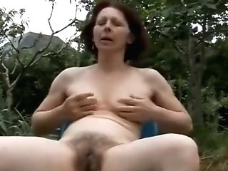 Amazing Homemade Clip With Outdoor, Matures Scenes