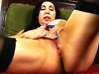 Dirty Talking Old Spunker Fucks Her Fat Edible Labia