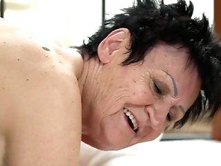 Youthful Dude Licks And Fucks Spread Vagina Of Puckered Older Woman Anastasia