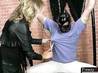 Frenzybdsm Matures Penis And Man Nips Torment