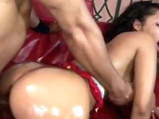 Black Honey Donna Crimson Gets Her Moist Twat Pounded Hard