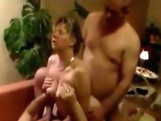 Swinging Wifey Dual Intrusion Threesome