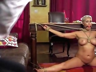 Bonded Enslaved Hardfucked And Jizzed On By Dom