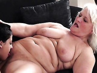 Matures With Big Jugs Gets Revved On Then Catapult Fucked By Horny Dude