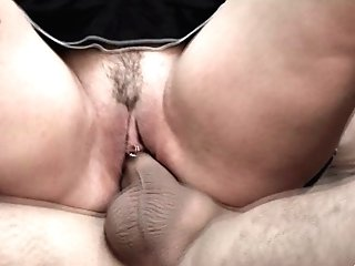 Two Nasty Fellas Exploiting Elizabeth Lawrence's Fuck Crevices