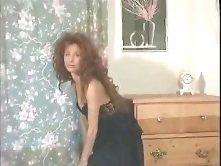 Older Vida Garman  Sexy In Black Underwear