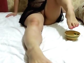 Sweet Feet Matures Brown-haired