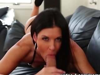 Amazing Sex Industry Star India Summer In Crazy Cougar, Dark Haired Romp Scene