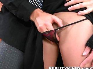 Incredible Pornographic Star In Amazing Fellatio, Clean-shaved Pornography Clip