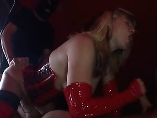 German Cougar Get Fucked By Two Boys
