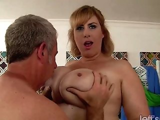 Bbw Cougar Lila Lovely Railing Matures Dick