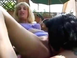 Matures Blonde Playing With Nasty Doll