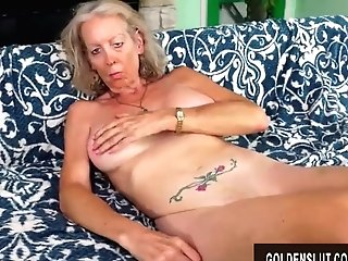 Tall Granny Supah Sexy Has Her Cock-squeezing Asshole Reamed By A Junior Stud