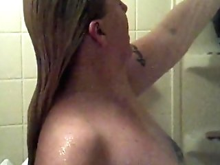 Showering With Fucktoys And Lollipop
