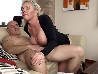 Bald Stud Likes Nothing More Than To Fuck Blonde Chick Krista E.