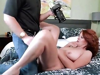 Big-chested Matures And Her Blonde Friend Love Hard Fuck With A Friend