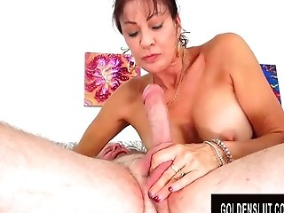 Lollipop Greedy Older Vanessa Videl Gets Fucked To Perfection