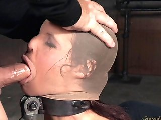 Matures Sandy-haired Slag Gets To Pleasure Shafts In The Basement