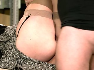 Perverse Mummy Nicole Is Fucked Hard By One Horny Hot Blooded Fellow