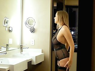 Special Missionary Orgasms For The Buxom Nubile On Fire