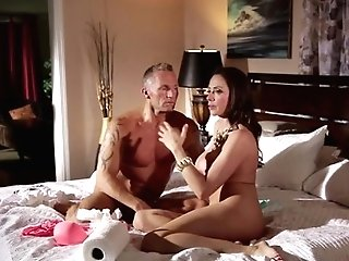Marcus London Attacks Brilliant Bodied Ariella Ferrera's Pubic Hair With His Love Torpedo