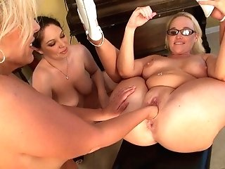 Cougars Have Fun With Playthings